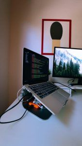 Zeumic Website Development St Kilda-Enhanced Laptop and Screen Model